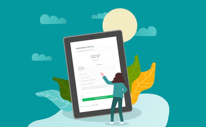Rejestracja on-line na stronie internetowej lekarza jako wsparcie w pozyskiwaniu pacjentów